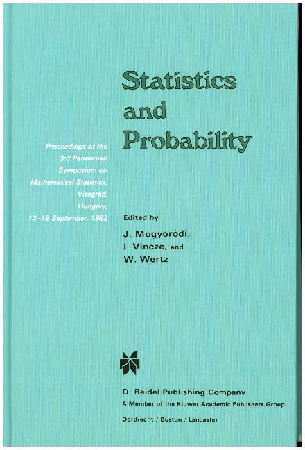 Statistics and Probability als Buch