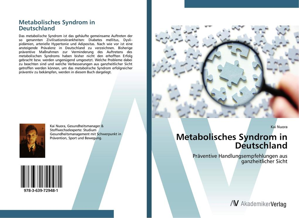 Metabolisches Syndrom in Deutschland als Buch v...