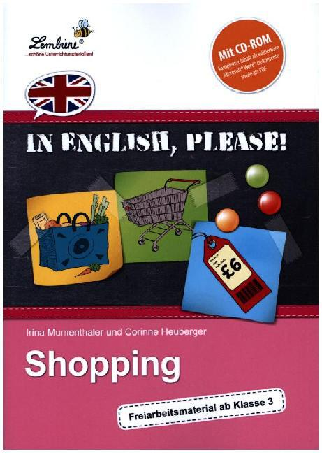 In English, please! Shopping (Set) als Buch von...