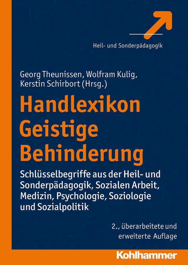 Handlexikon Geistige Behinderung als eBook Down...