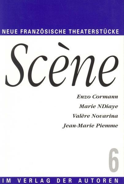 Scene 6. Vier neue französiche Theaterstücke als Buch
