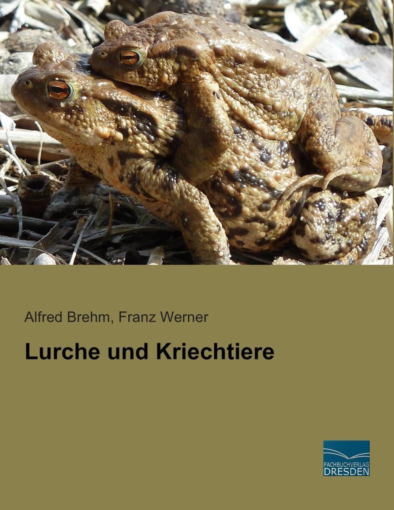 Lurche und Kriechtiere als Buch von Alfred Breh...