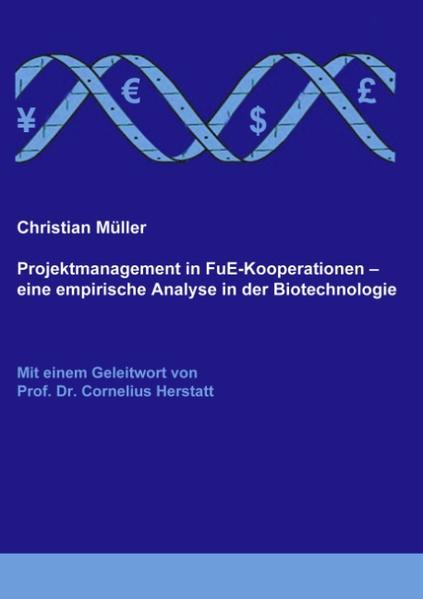 Projektmanagement in FuE-Kooperationen als Buch