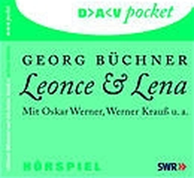 Leonce und Lena. CD als Hörbuch