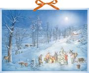 Weihnachtsüberraschung für die Waldtiere Wandkalender
