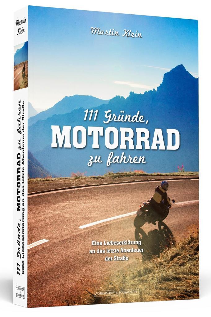 111 Gründe, Motorrad zu fahren als Buch