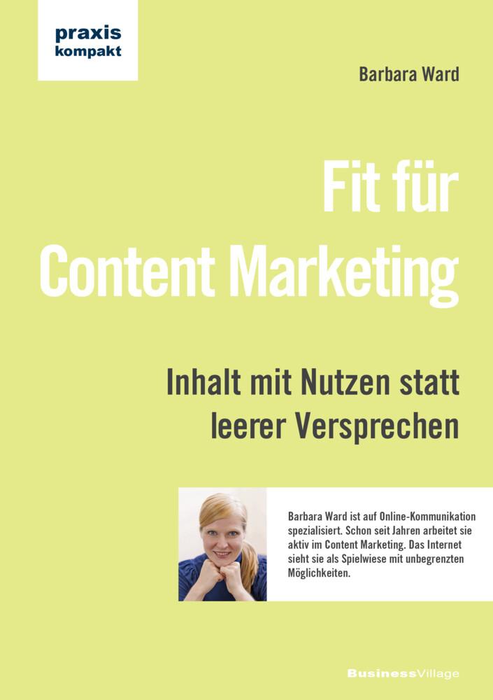 Fit für Content Marketing als Buch von Barbara ...