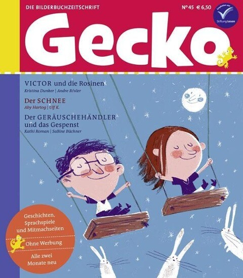 Gecko Kinderzeitschrift Band 45 als Buch von Kr...