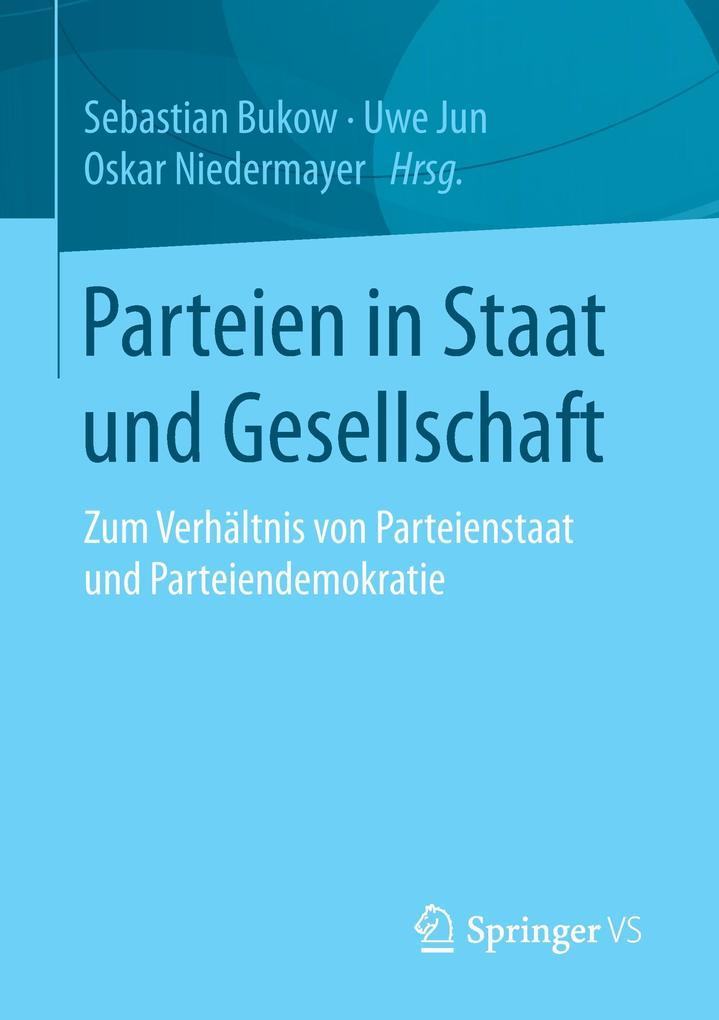 Parteien in Staat und Gesellschaft als Buch von