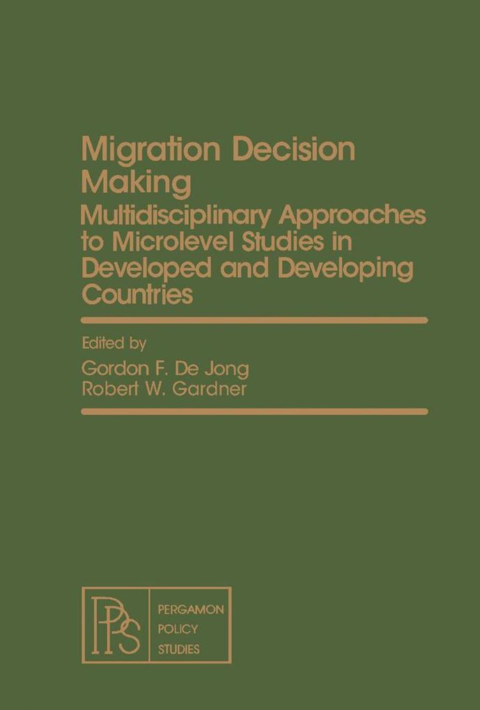 Migration Decision Making als eBook Download von