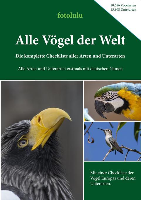 Alle Vögel der Welt als Buch von Fotolulu