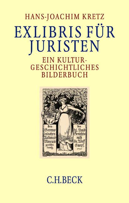 Exlibris für Juristen als Buch