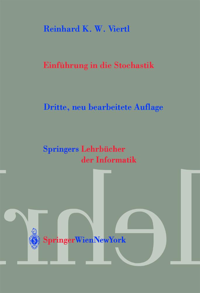 Einführung in die Stochastik als Buch