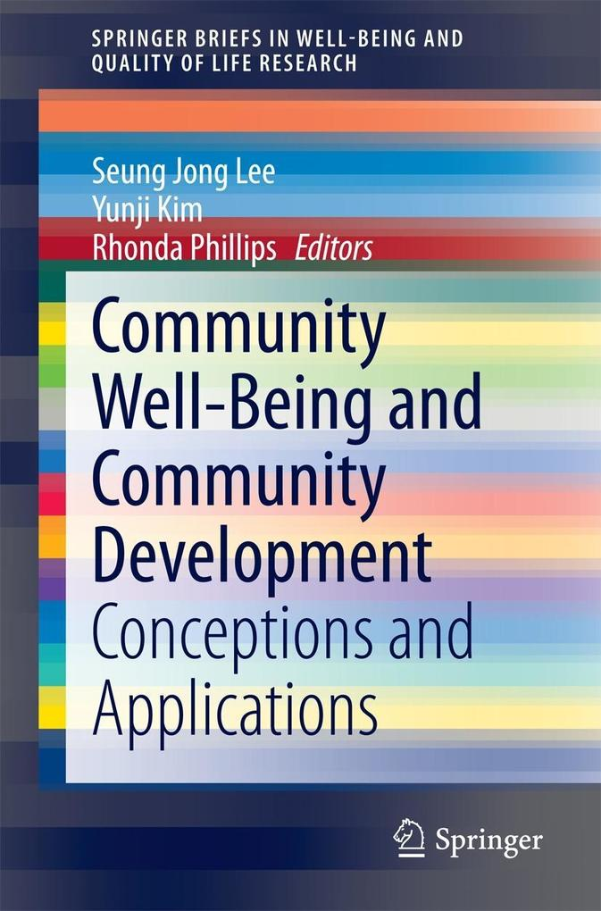 Community Well-Being and Community Development ...