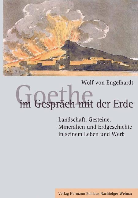 Goethe im Gespräch mit der Erde als Buch