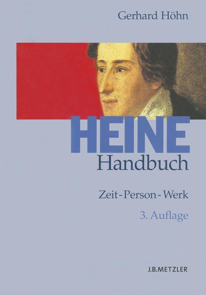 Heine-Handbuch als Buch