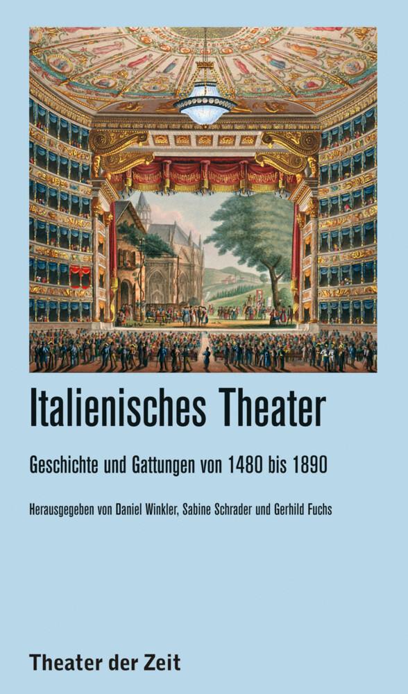 Italienisches Theater als Buch von