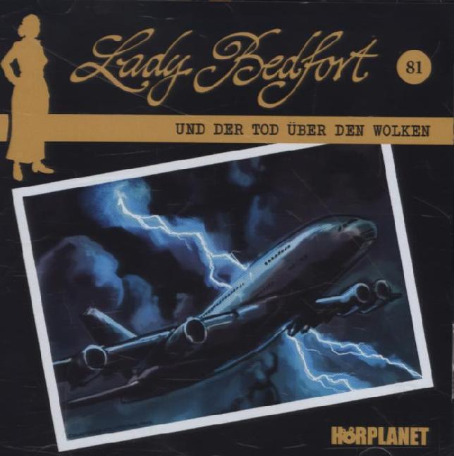 Lady Bedfort 81. Tod über den Wolken als Hörbuc...