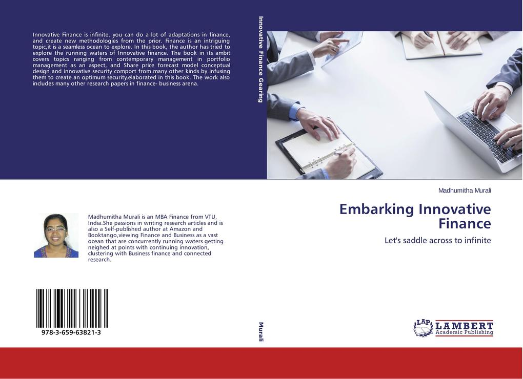 Embarking Innovative Finance als Buch von Madhu...