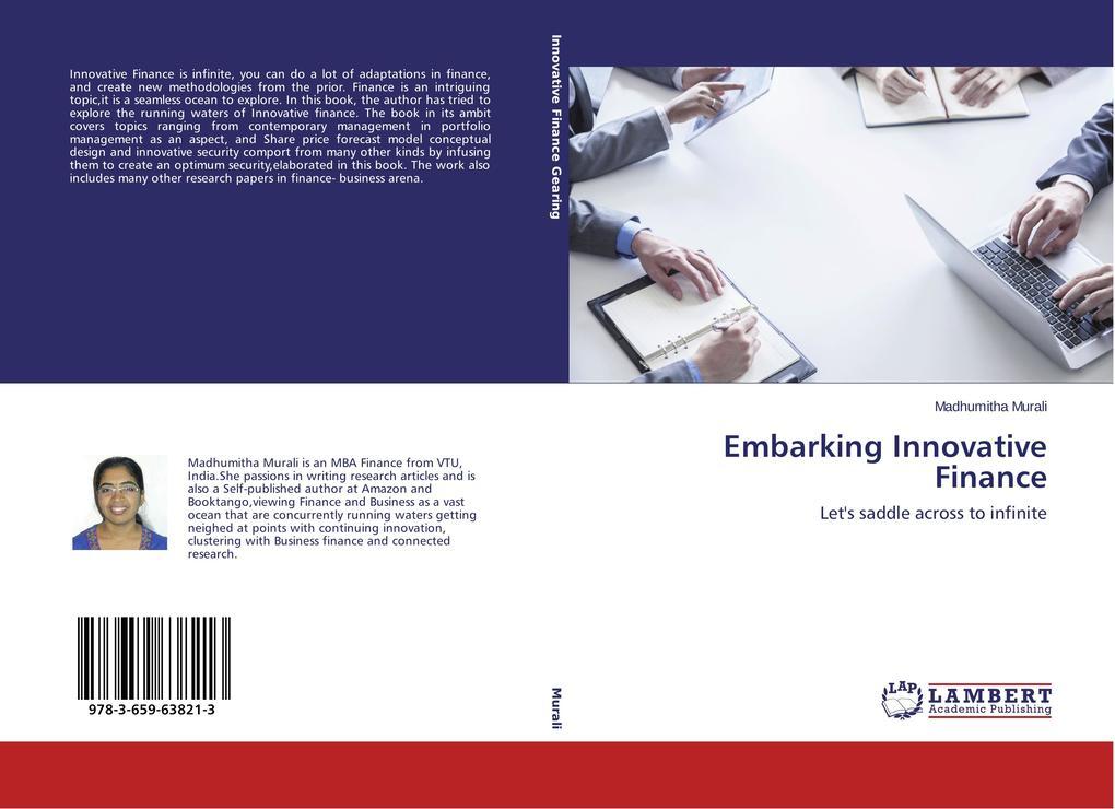 Embarking Innovative Finance als Buch von Madhu...