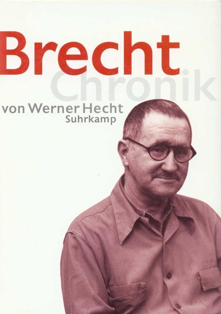 Brecht Chronik 1898-1956 als Buch