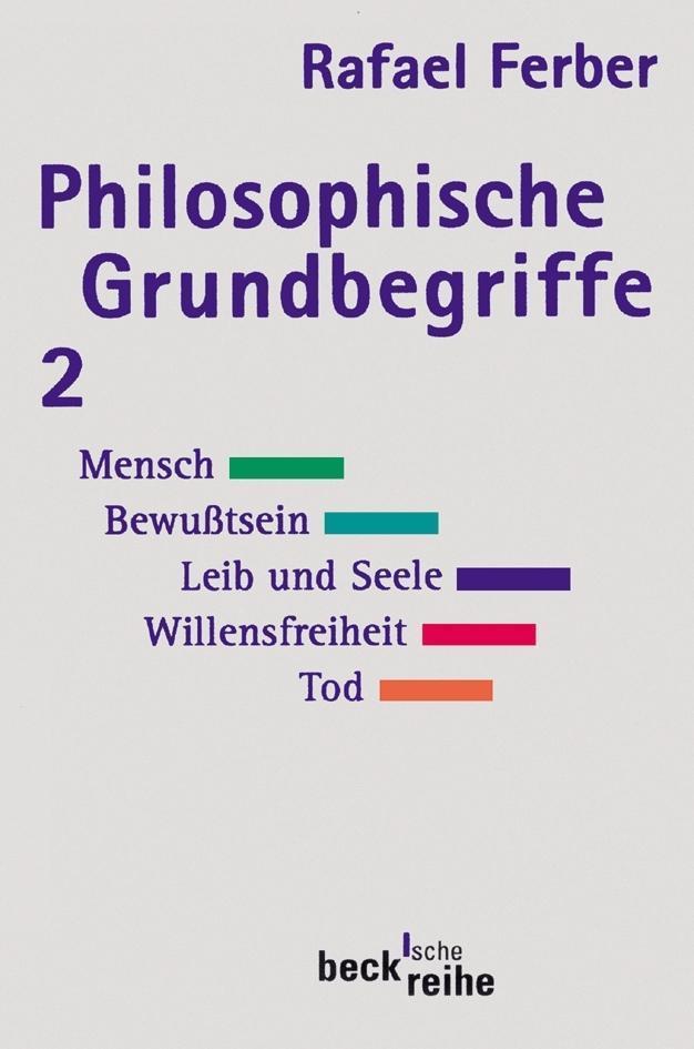 Philosophische Grundbegriffe 2 als Taschenbuch