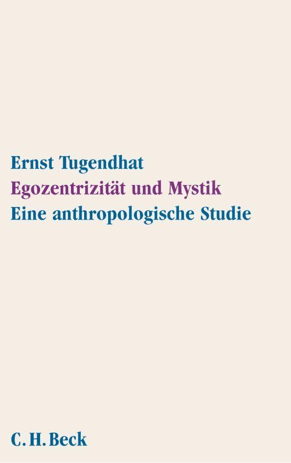 Egozentrizität und Mystik als Buch