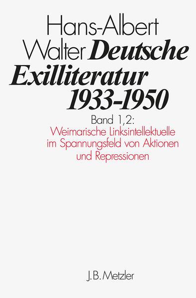 Deutsche Exilliteratur 1933-1950 1/2 als Buch