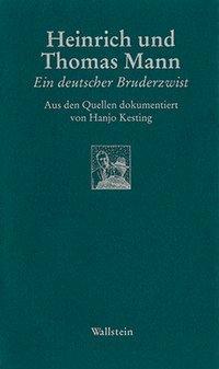 Heinrich und Thomas Mann als Buch