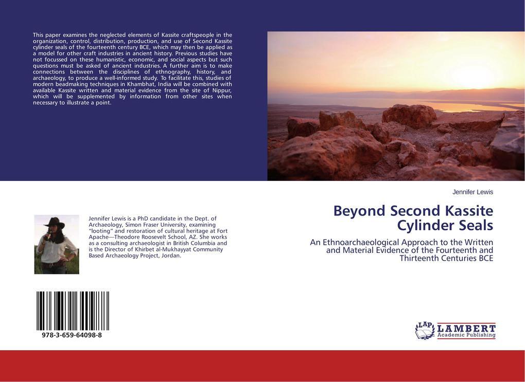 Beyond Second Kassite Cylinder Seals als Buch v...