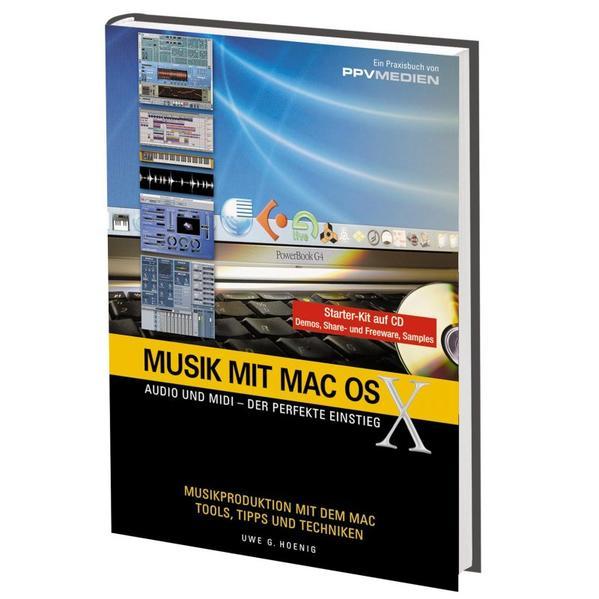 Musik mit MacOS X. (mit CD) als Buch