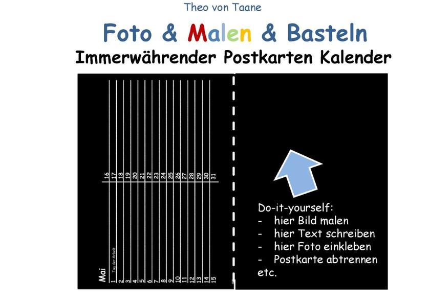 Foto & Malen & Basteln - Immerwährender Postkar...