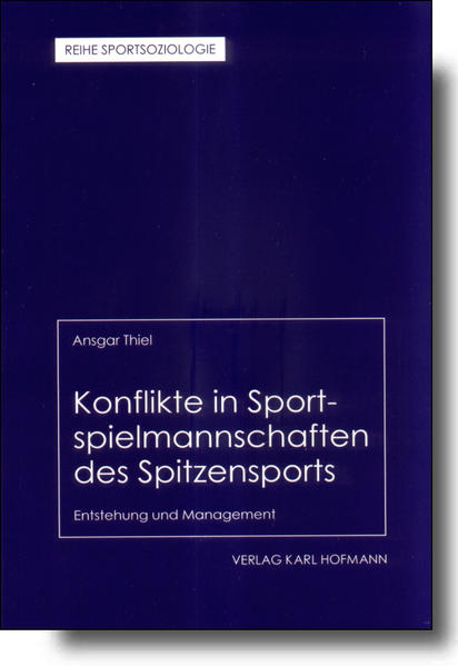 Konflikte in Sportspielmannschaften des Spitzensports als Buch