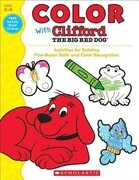 Color with Clifford the Big Red Dog