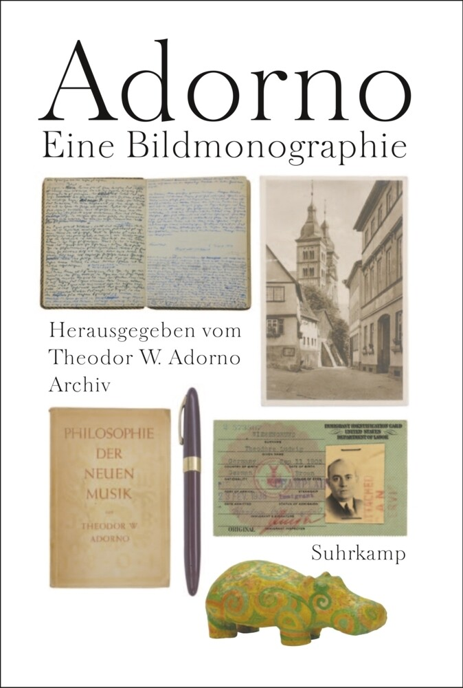 Adorno. Eine Bildmonographie als Buch