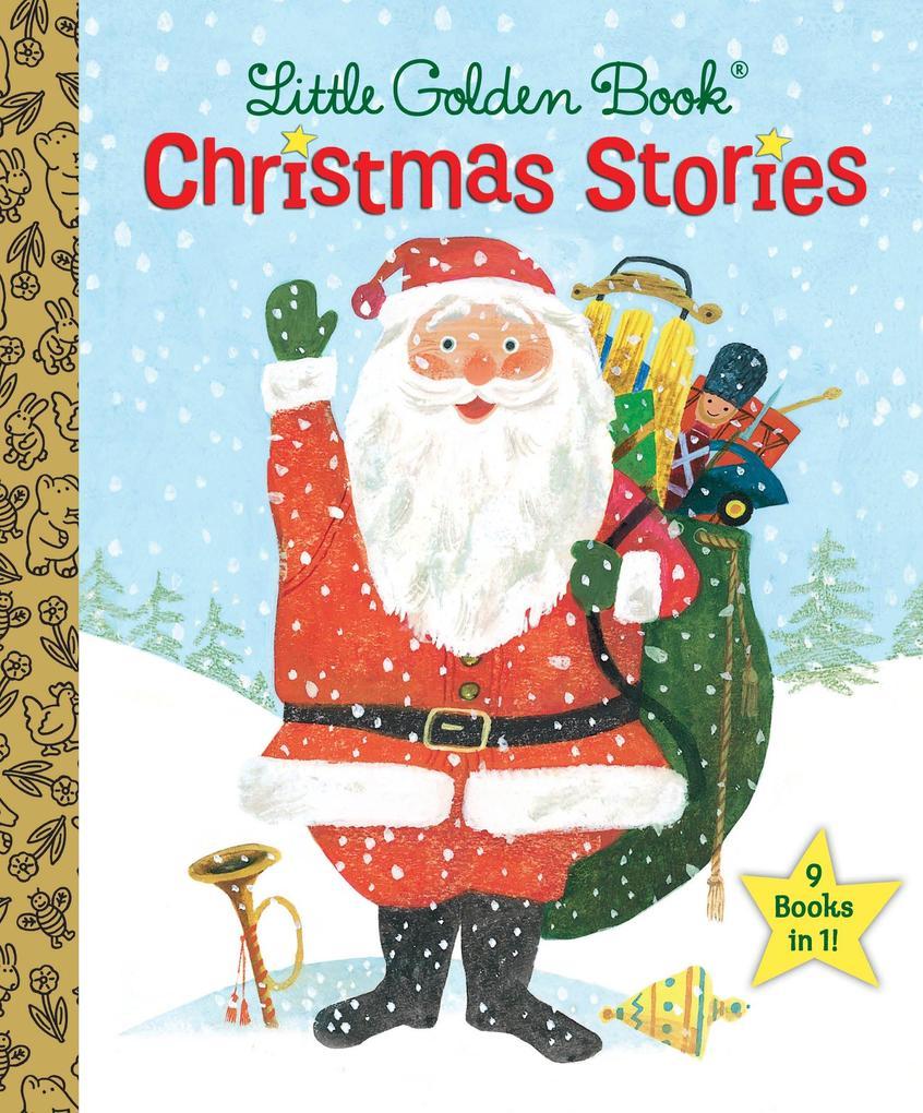 The Little Golden Book Christmas Stories als Bu...