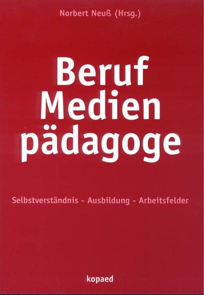 Beruf Medienpädagoge als Buch