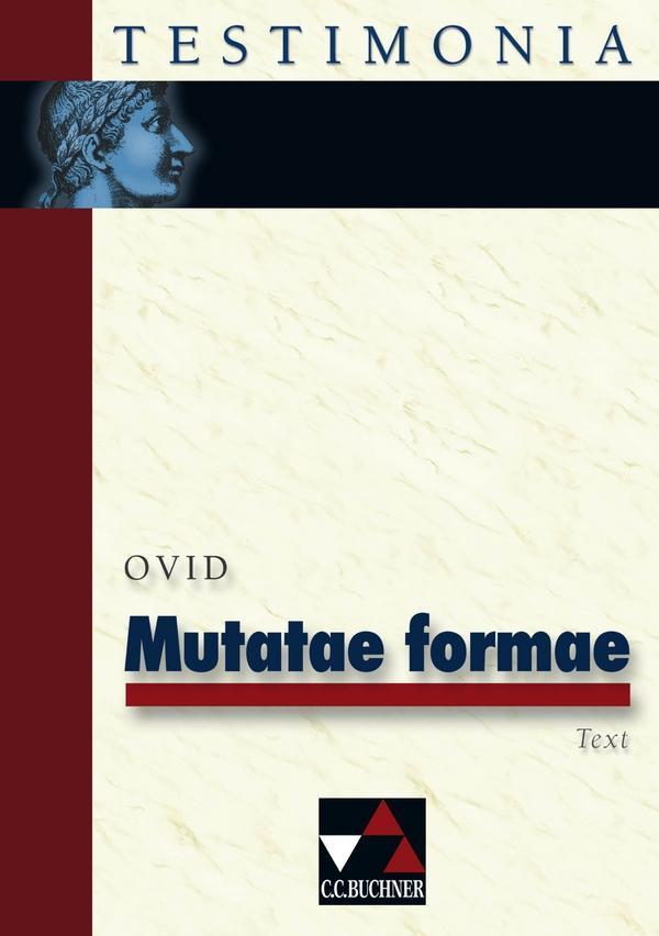 Metatae formae als Buch