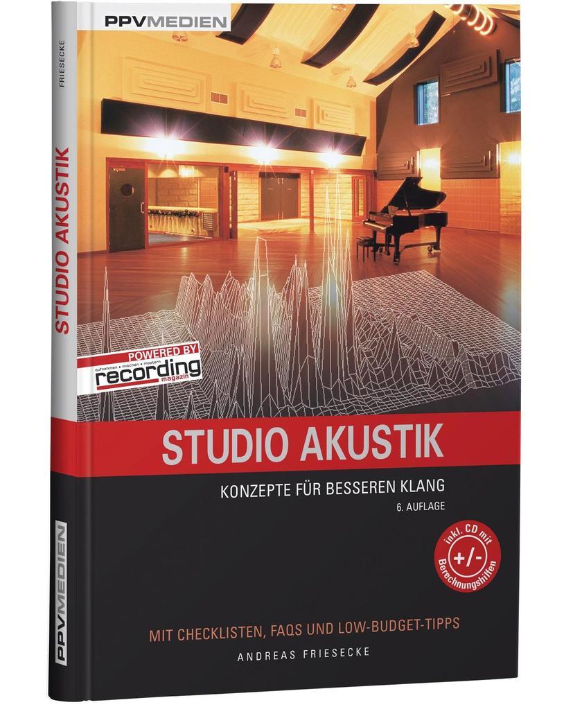 Studio Akustik als Buch von Andreas Friesecke