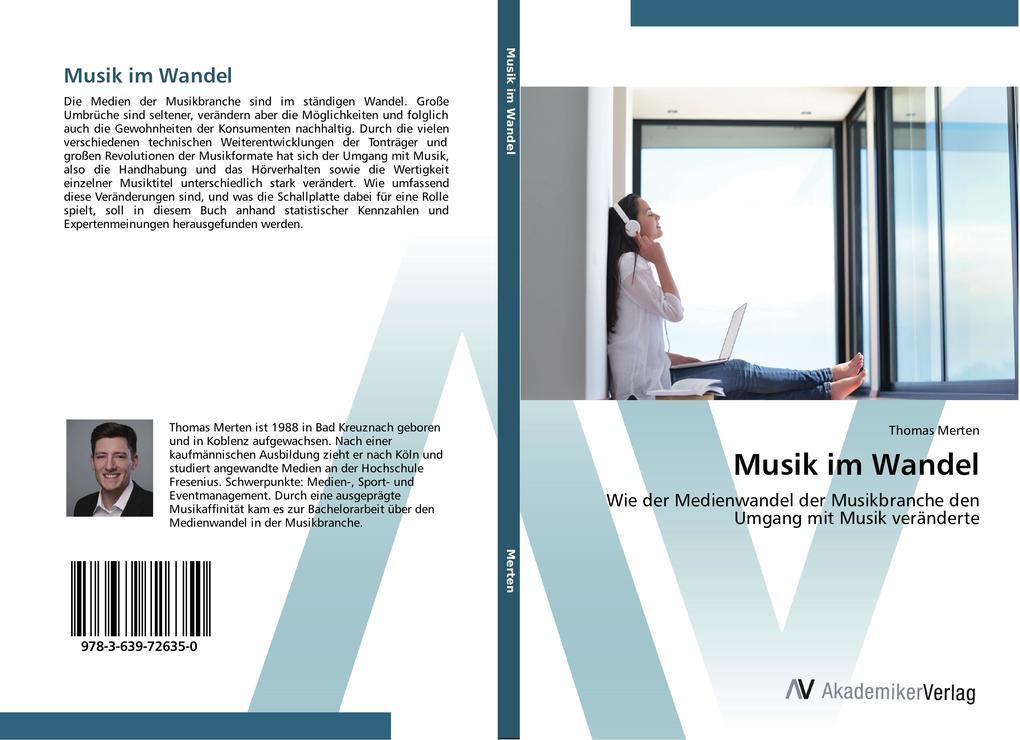 Musik im Wandel als Buch von Thomas Merten