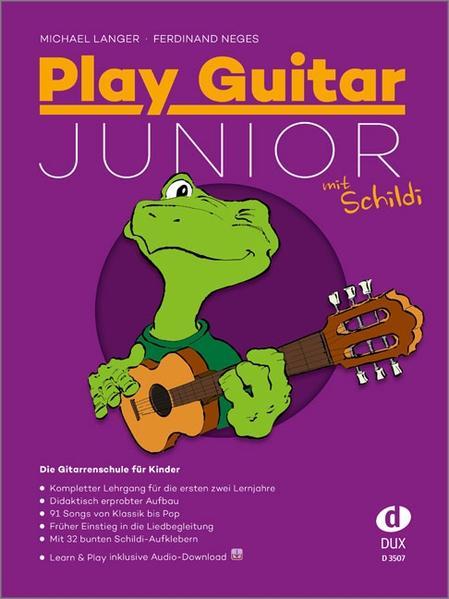 Play Guitar Junior mit Schildi als Buch