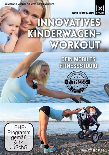 Innovatives Kinderwagen-Workout Funktionelle Rü...