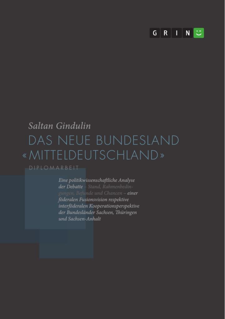 Das neue Bundesland Mitteldeutschland als Buch ...