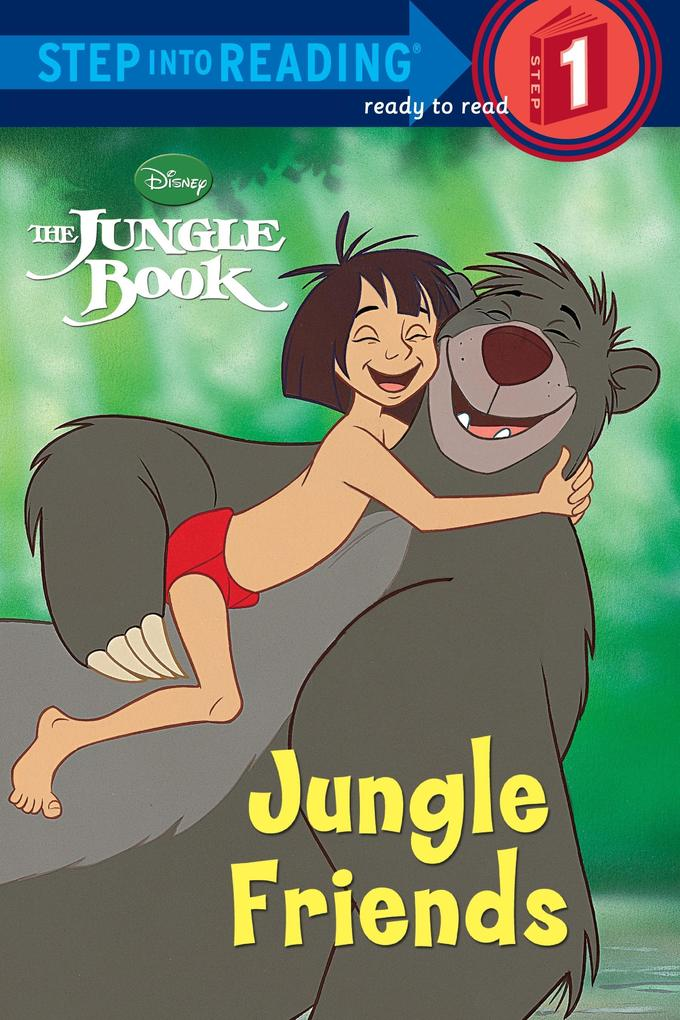 Jungle Friends (Disney Jungle Book) als Taschenbuch