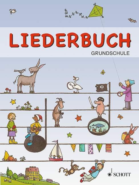 Liederbuch Grundschule mit Geburtstagslieder Ka...