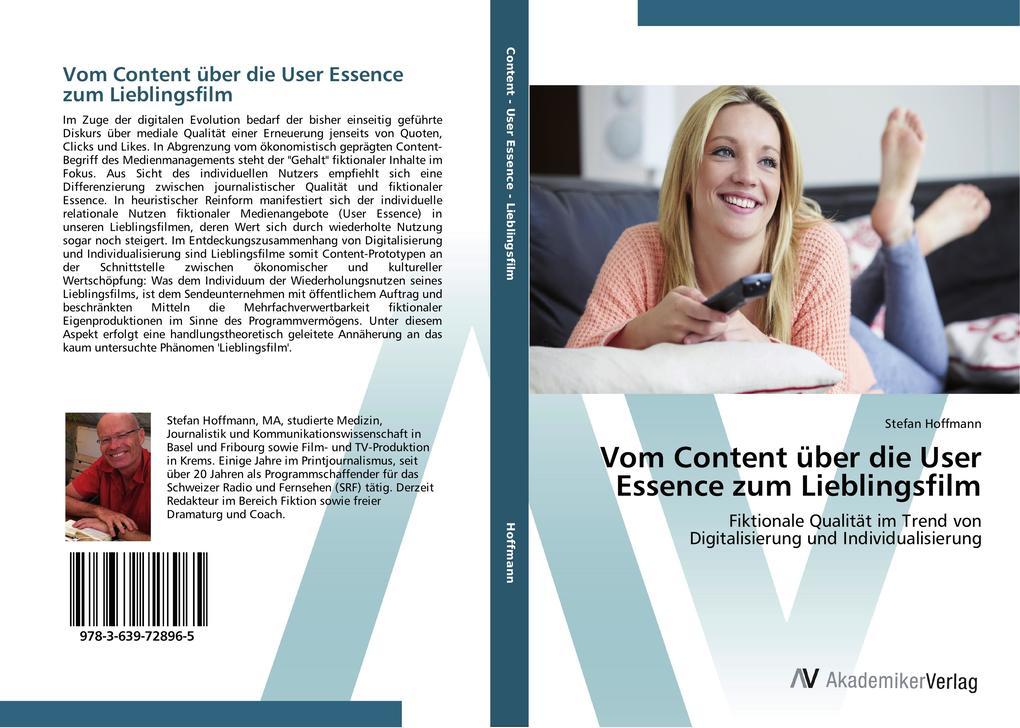 Vom Content über die User Essence zum Lieblings...