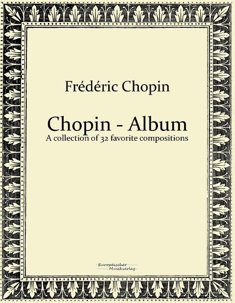 Chopin - Album als Buch von Frédéric Chopin