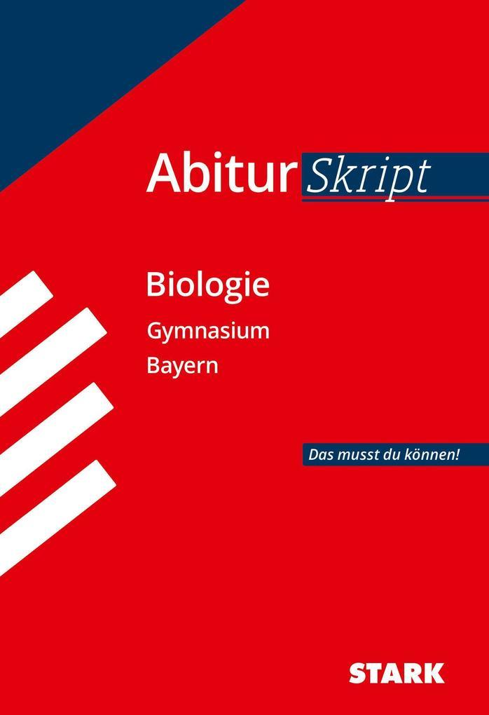 Abiturskript Bayern Biologie als Buch