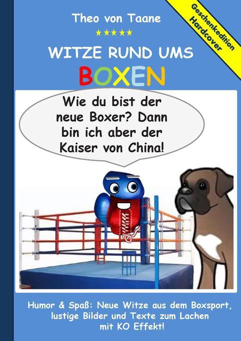 Geschenkausgabe Hardcover: Witze rund ums Boxen...