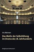 Das Motiv der Selbsttötung im Drama des 18. Jahrhunderts